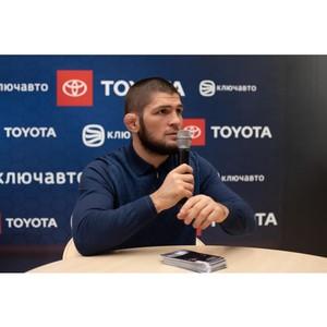 Хабиб Нурмагомедов - гость автоцентра