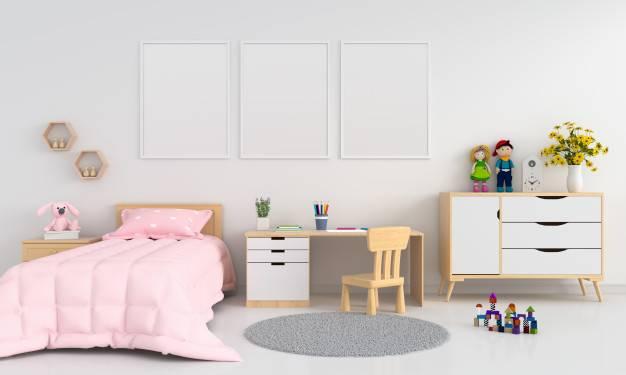 Ремонт в детской комнате - только безопасные материалы!