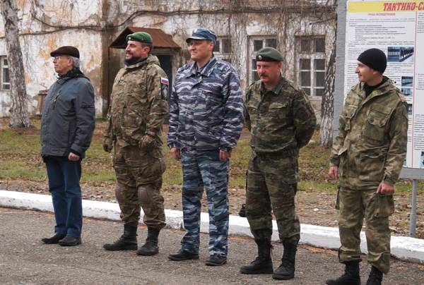 Военно-патриотические клубы Кузбасса прошли тренировку на базе ГУФСИН