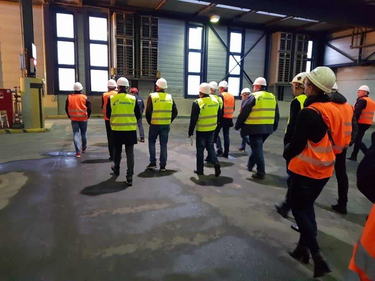 Курские специалисты побывали на Франкфуртском мусоросжигательном заводе