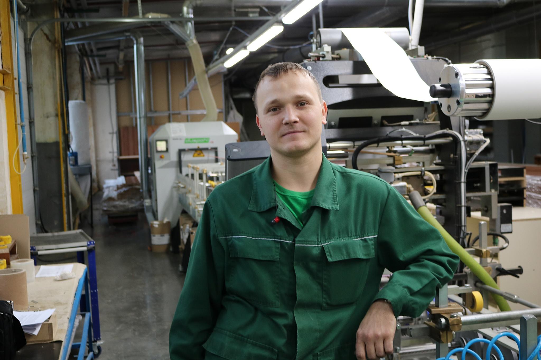 Алексей Повеквечных в рабочей обстановке
