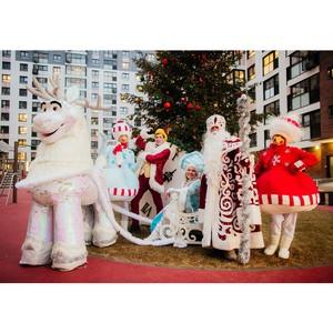 Группа ПСН И «ПСН Хоум» провели в ЖК «Гринада» новогоднее мероприятие