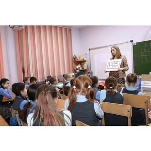 Удмуртэнерго рассказывает школьникам об опасности электрического тока
