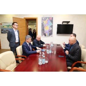 Губернатор Липецкой области и глава Россети Центр провели встречу