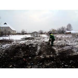 В селе Репьевка Республики Мордовия ликвидировали свалку отходов