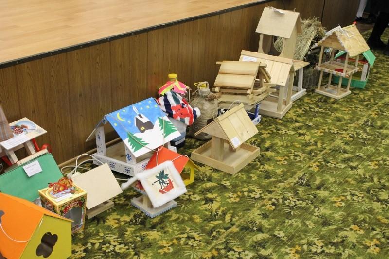 Активисты ОНФ и лицеисты провели в Мордовии акцию «Покорми птиц зимой»