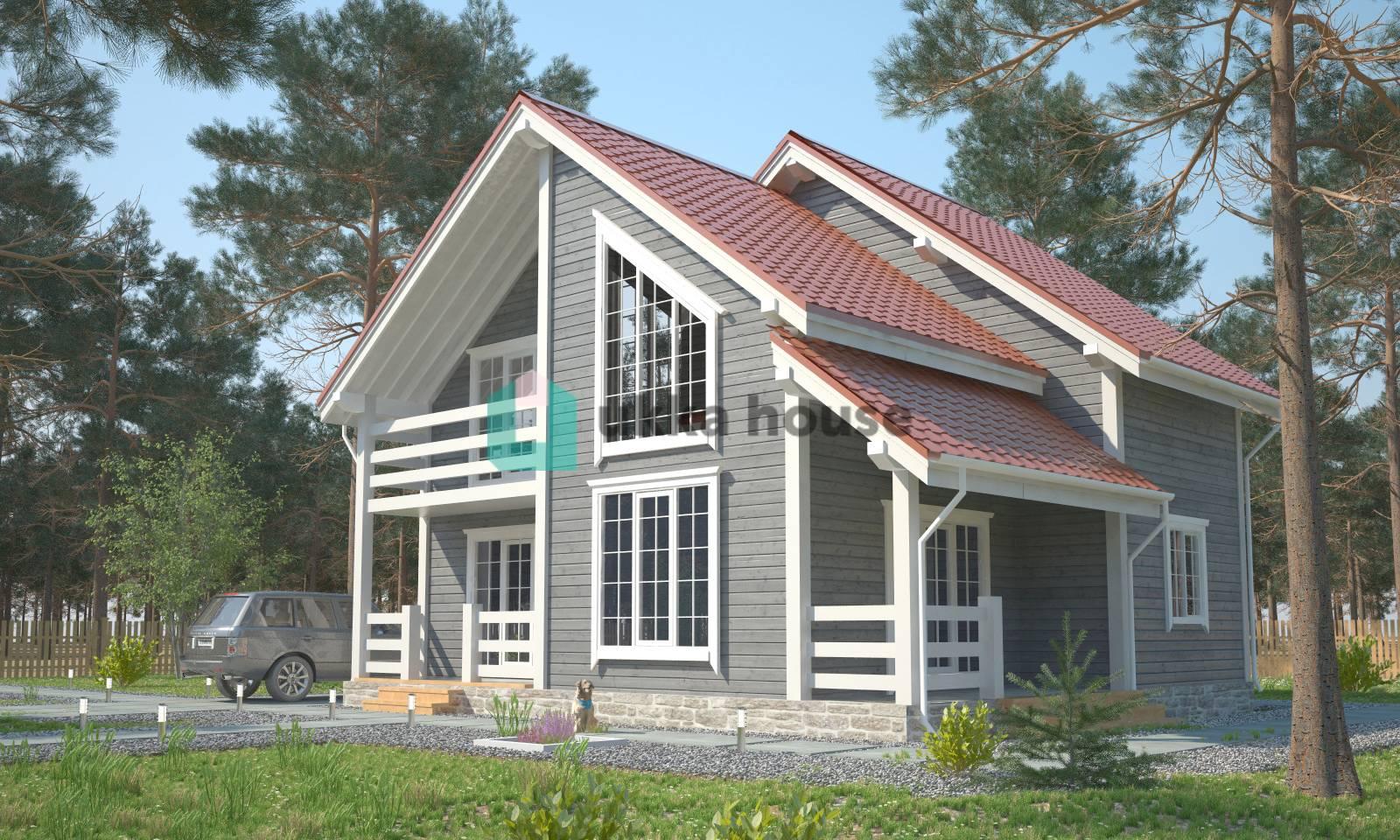 Скандинавский каркасный дом – лучшее решение для петербургской зимы
