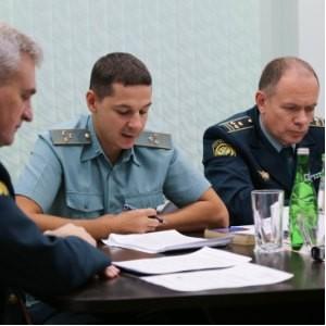 Первое заседание Консультативного совета во Внуковской таможне