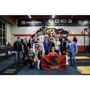 В Москве прошел турнир по кроссфиту