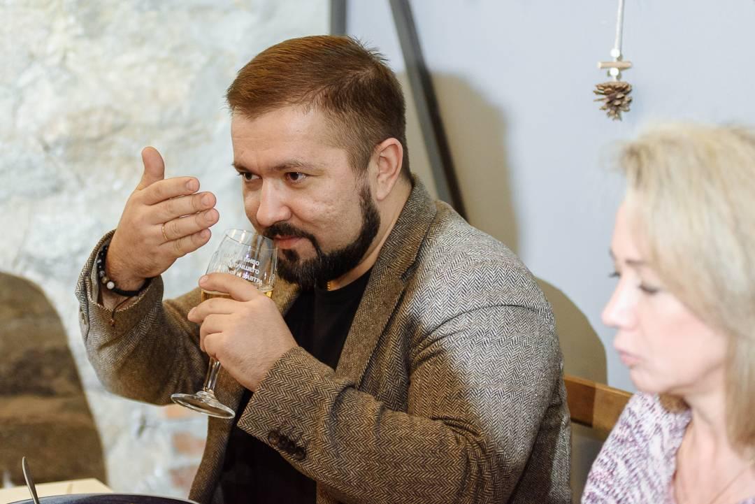 Гастрономический ужин от «Балтики» в Cubby Resto Bar Новосибирск