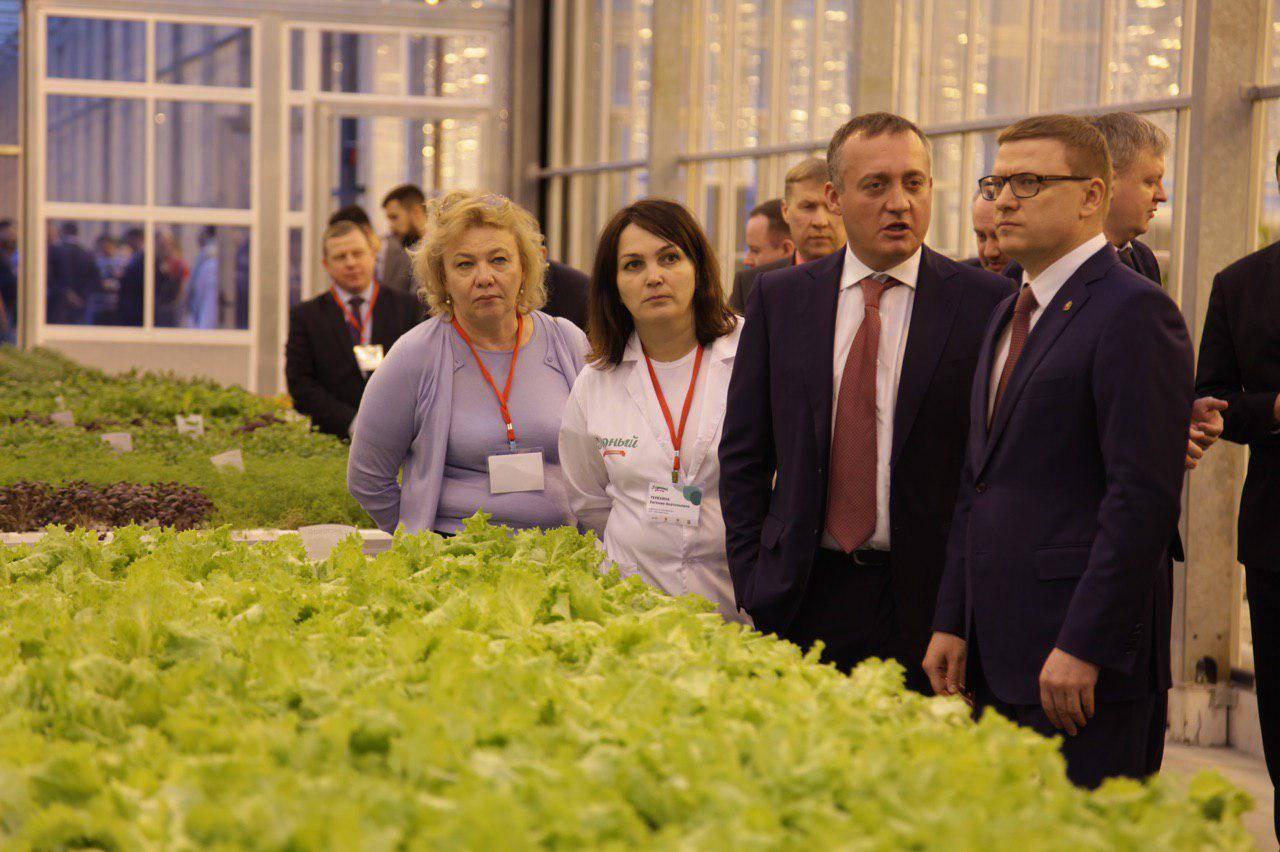 В Усть-Катаве Челябинской области открыли крупнейший агрокомплекс