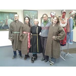 В Доме дружбы народов Чувашии состоялся мастер-класс по пошиву армяка
