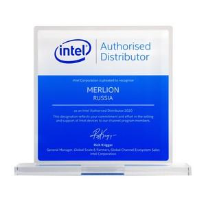 Merlion получил награду от Intel