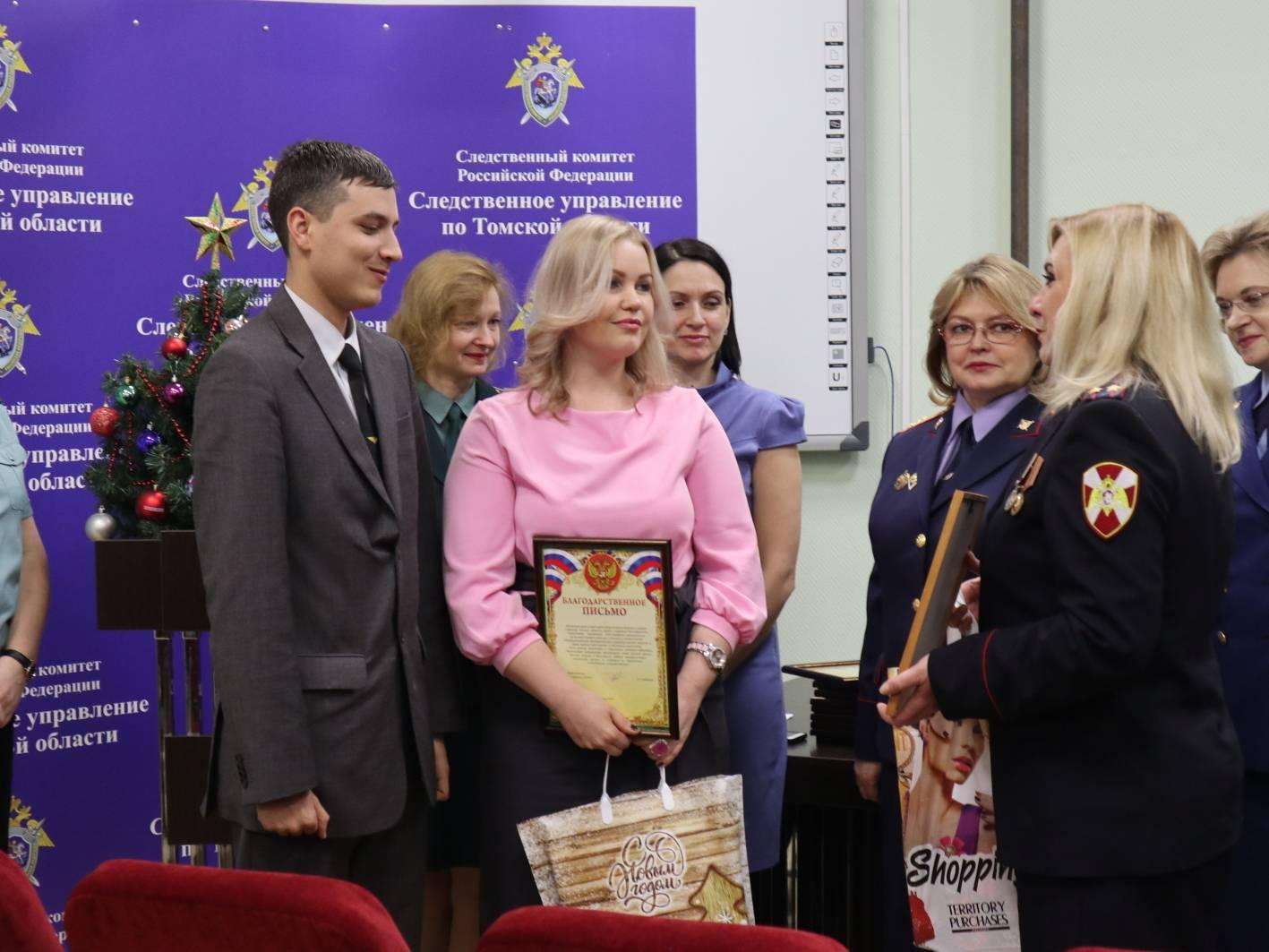 В Томске пресс-службы силовых структур чествовали журналистов
