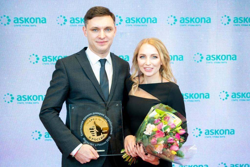 «Аскона», Владимир Корчагов, вице-президент по розничному бизнесу и Елена Корчагова, директор по стратегическому маркетингу.