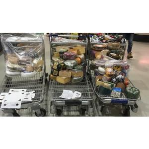 В Мытищах продолжают торговлю «санкционкой»