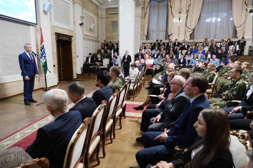 В Новосибирске наградили лучшие поисковые отряды
