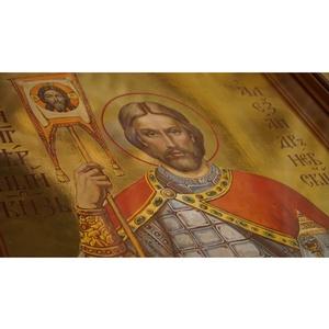 Иконы святого Александра Невского освятили в Санкт-Петербурге