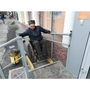 ОНФ просит власти Волгограда привести в порядок ненормативные пандусы