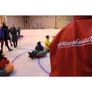 Молодежка ОНФ приняла участие в организации ледового праздника в Ухте