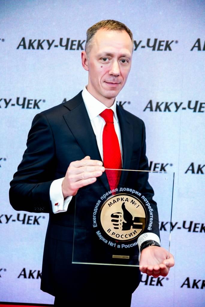 Владимир Карпухин, генеральный директор компании «Рош Диабетес Кеа Рус».