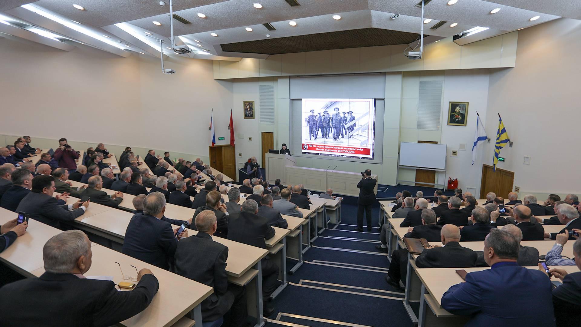 100 лет со дня рождения Николая Шестопалова маршала инженерных войск