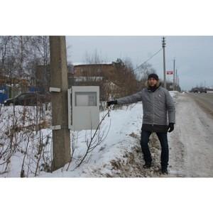 ОНФ в Коми добивается установки знаков «Фотовидеофиксация» на дорогах