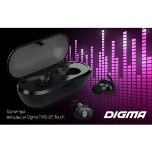 Беспроводные наушники Digma TWS-05: компактность и удобство