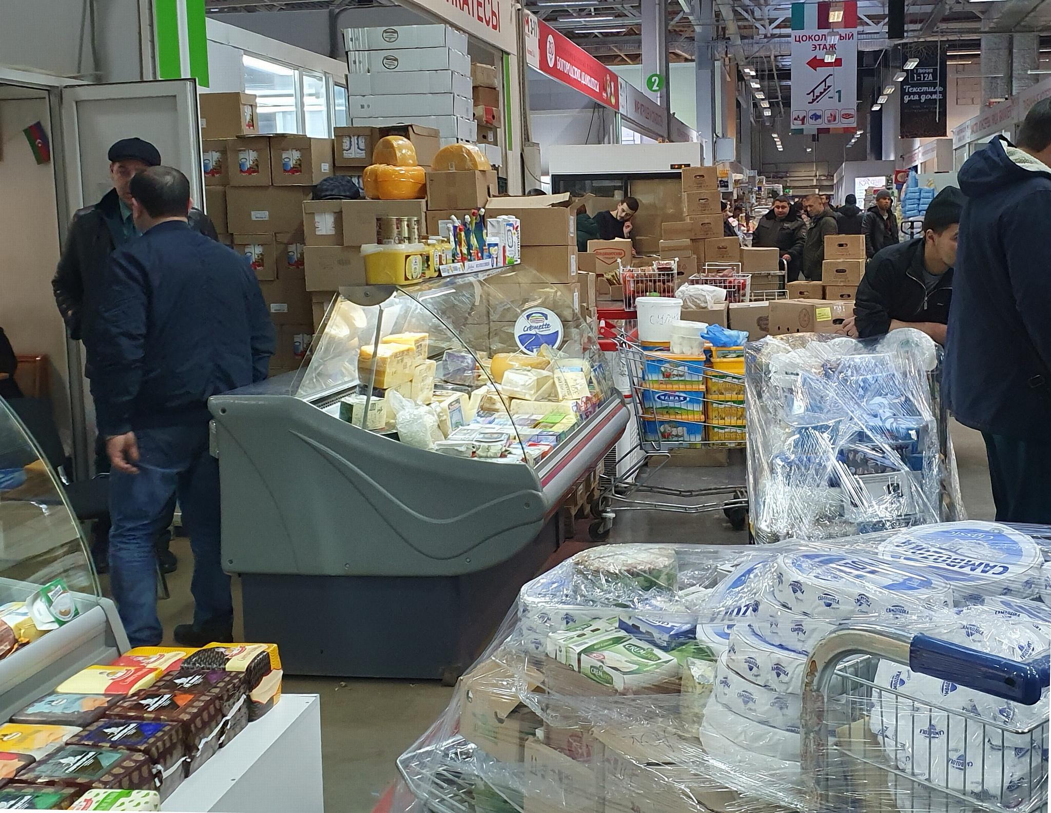 В ОТК «Мытищи» пресекли реализацию 1100 кг санкционного сыра