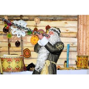В гостях у чувашского Деда Мороза Хель Мучи побывали гости из Москвы
