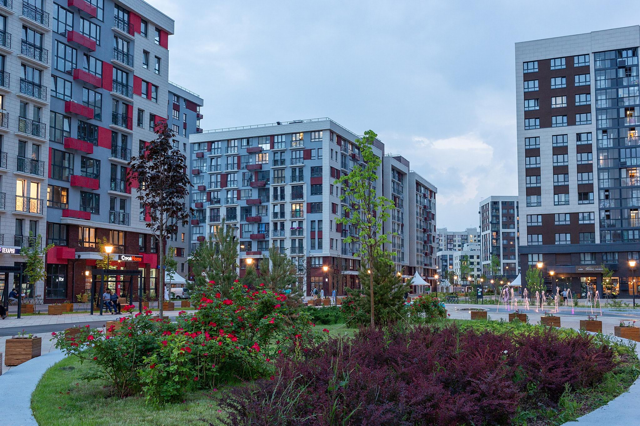 ЖК Новой Москвы рядом с действующими и будущими парковыми зонами