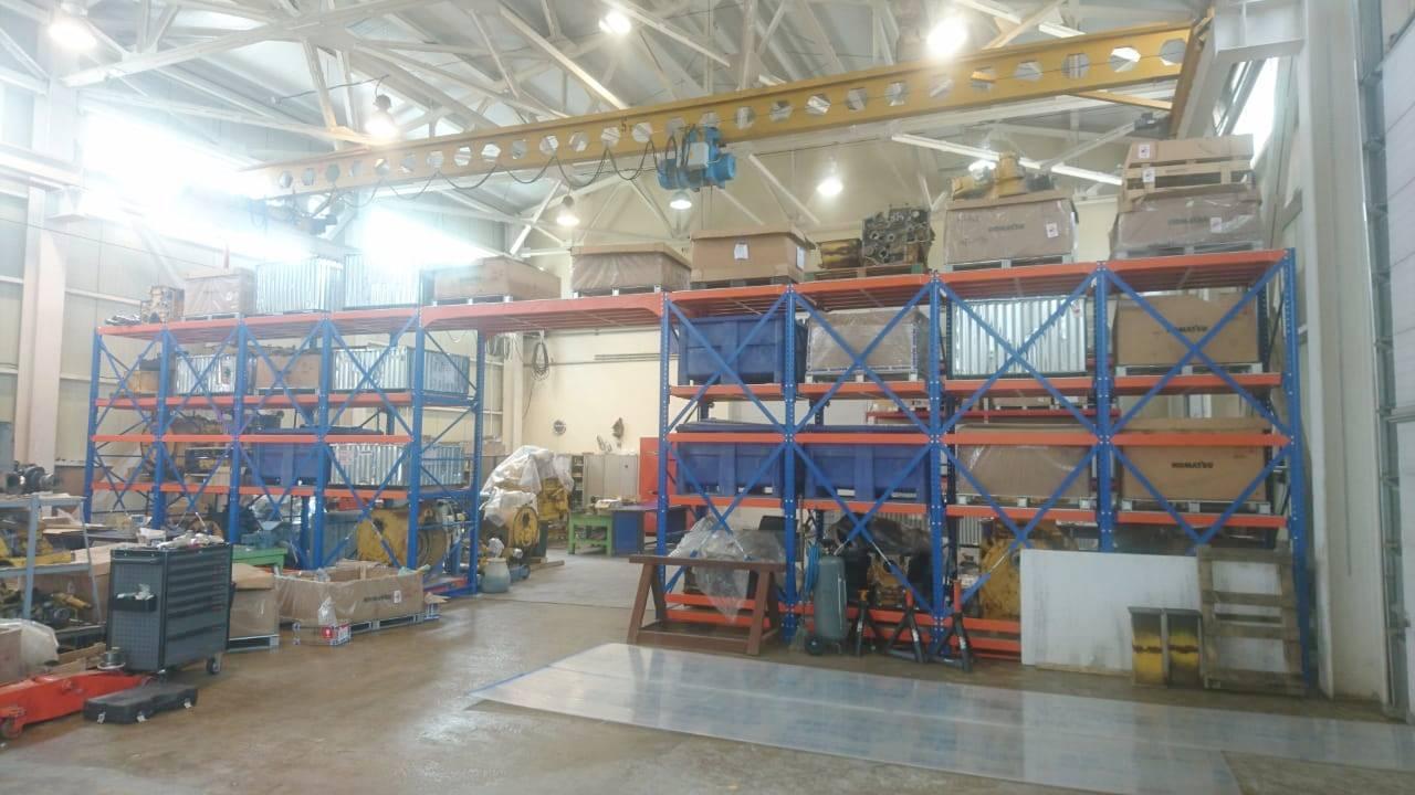 Уральское предприятие наладило выпуск стеллажей мирового уровня