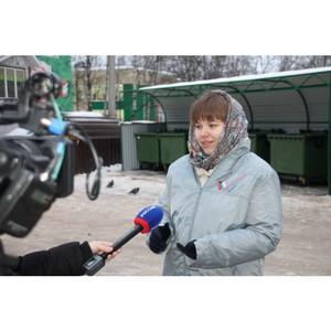 Благодаря Молодежке ОНФ в Сыктывкаре появилась место для сбора мусора