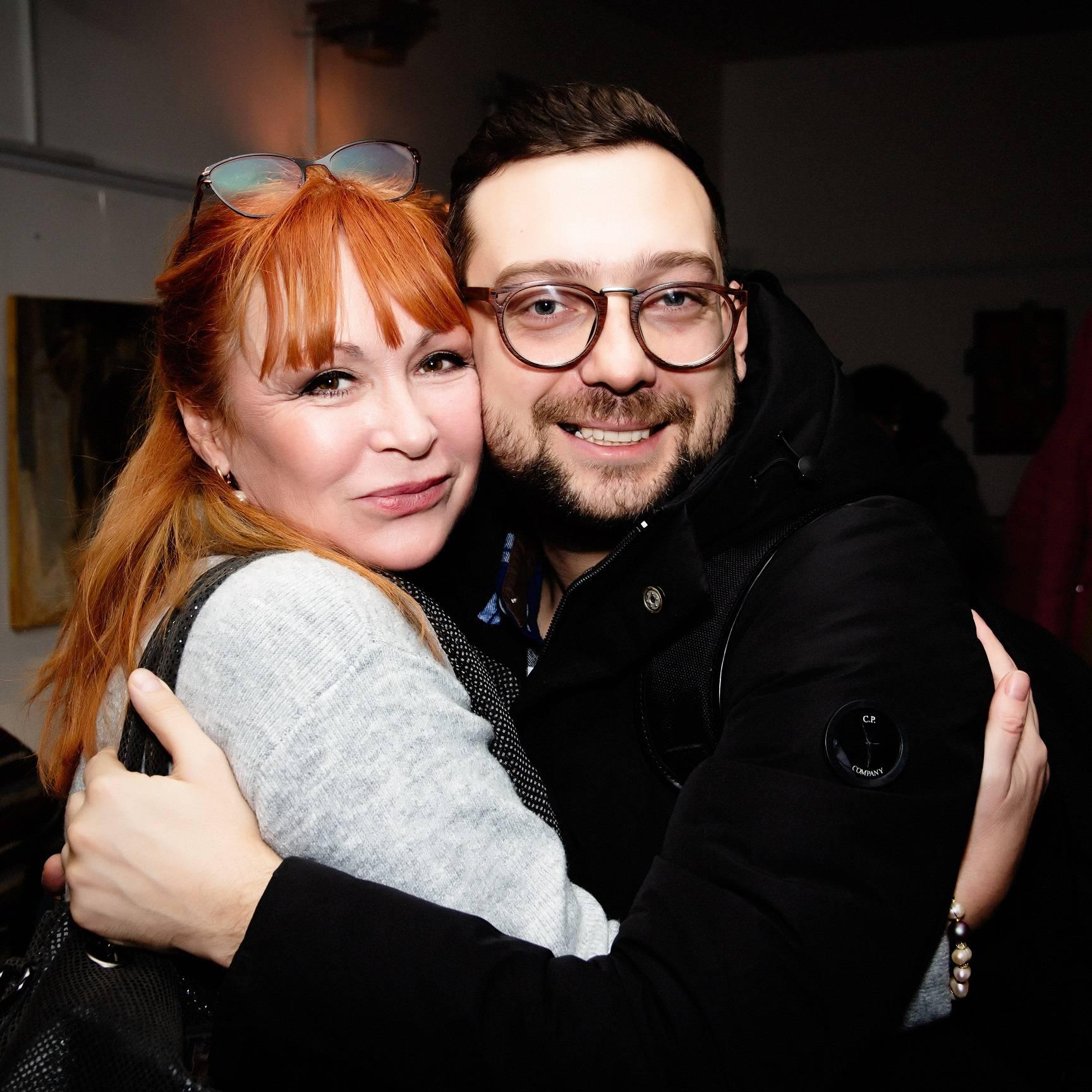 Елена Стародуб и Сергей Канаев.