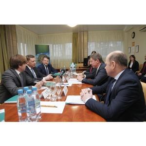 Дмитрий Степаненко поздравил «Пивзавод «Ярпиво» с 45-летием