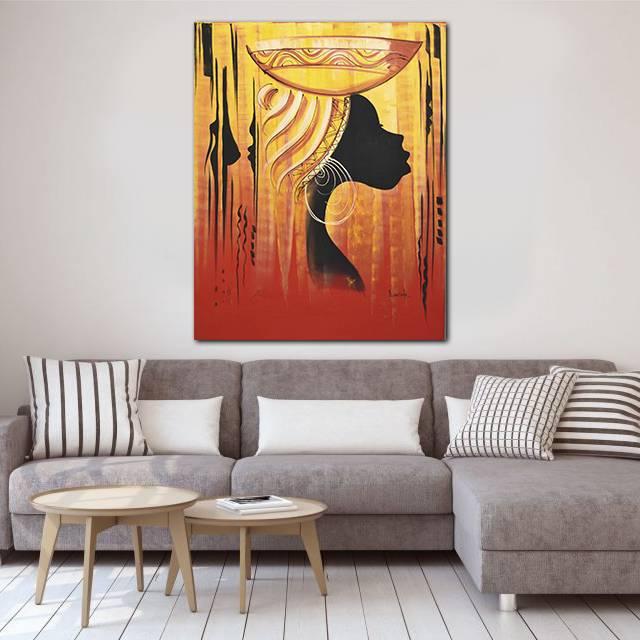 Музыка Ганы в картинах африканского художника. Дерек Аду Боатен