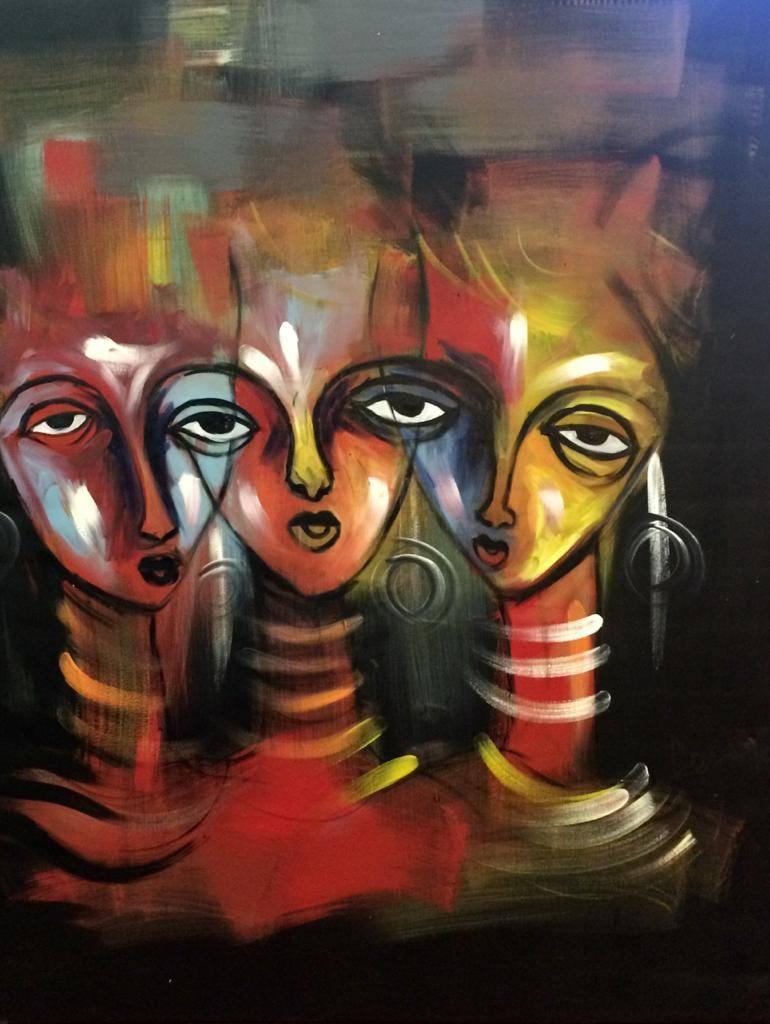 Дерек Аду Боатен и галерея Тутти Кванти картины в интерьер