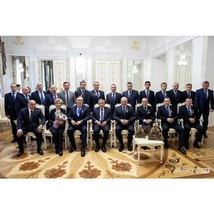 Президент Татарстана встретился с командой «Камаз-мастер»