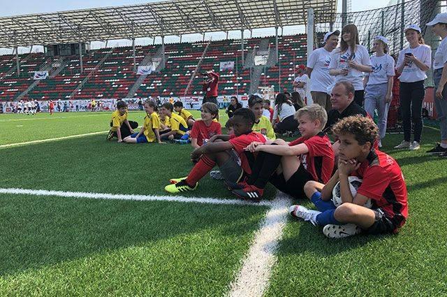 Четвёртый зимний детский турнир по футболу «Кубок добра» в Москве