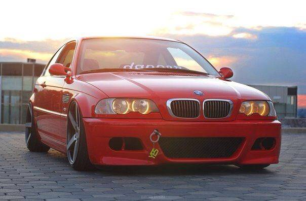 BMW 3 E46 Air Suspension project