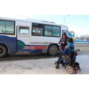 Проверив доступность автобусов, активисты ОНФ обратились в минтранс