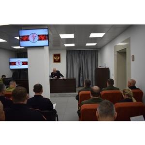 В  Росгвардии по Новосибирской области - зимний период обучения