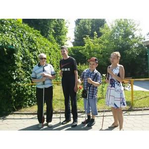 Уроки ориентирования в «Доме слепоглухих» в Москве