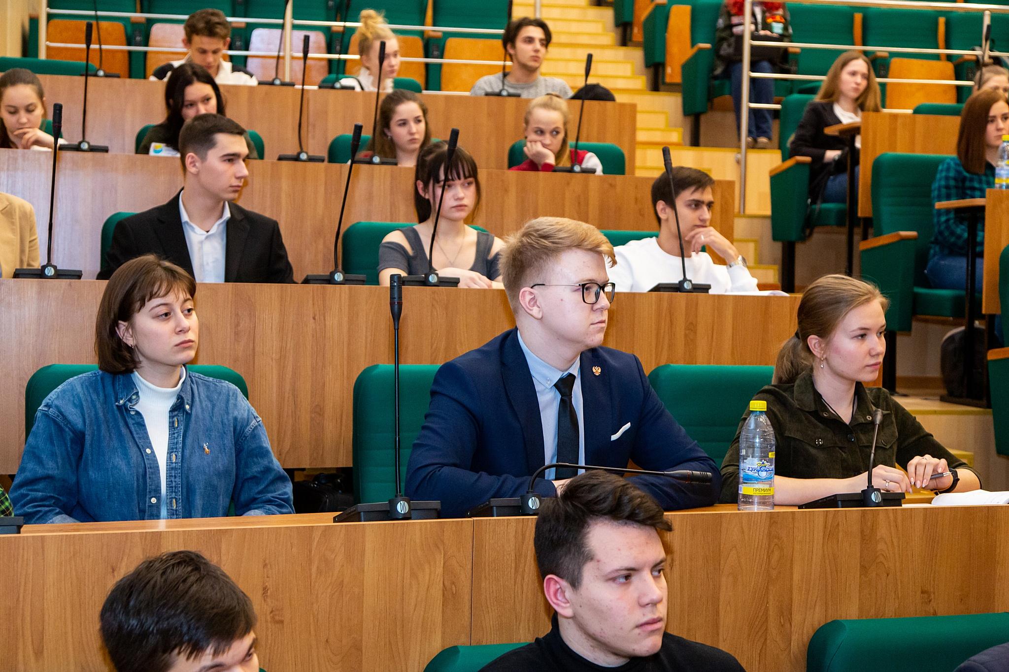 Открытый диалог об интересах студентов УрГЭУ