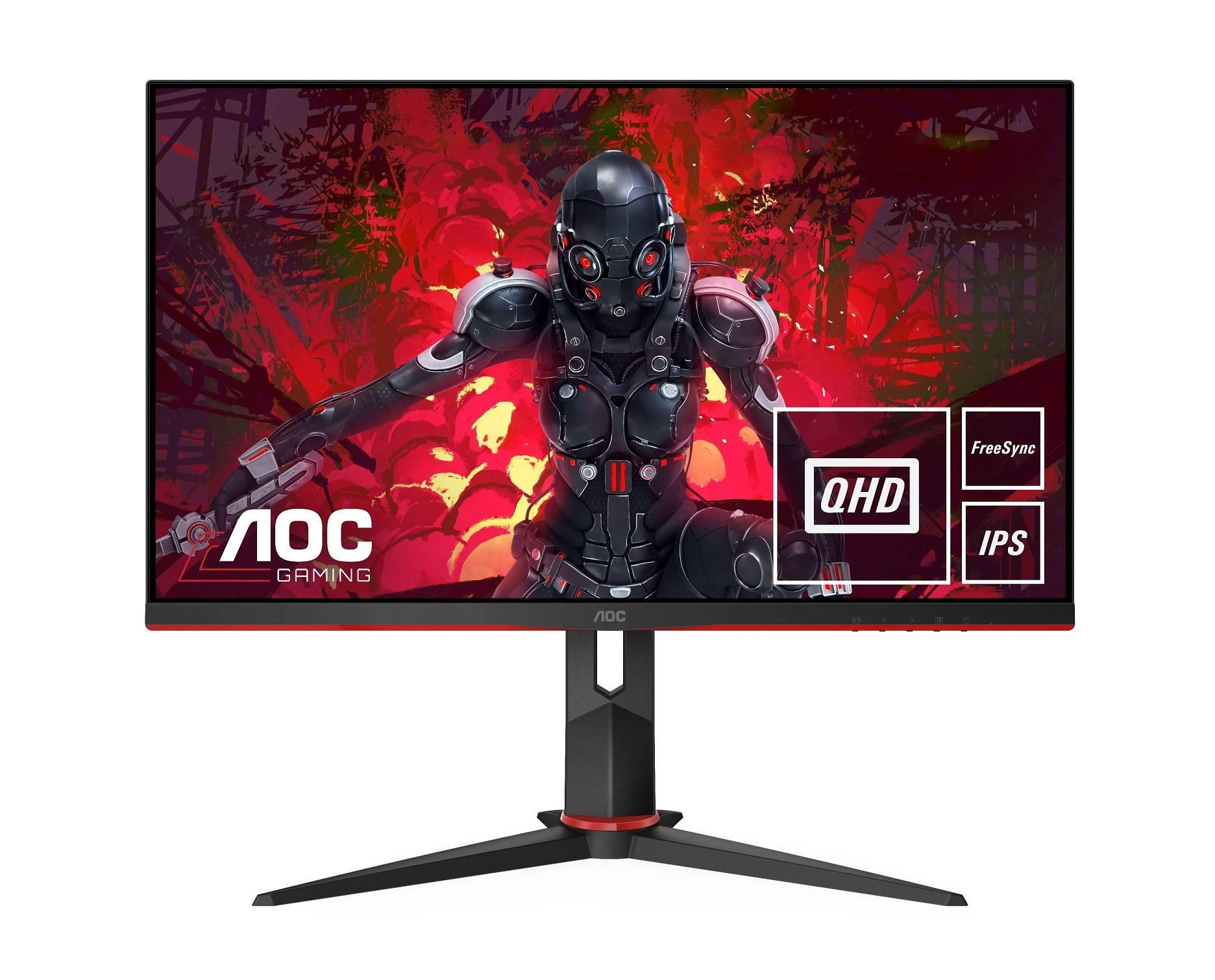 Компания AOC выпустила два новых игровых монитора Q27G2U и CQ27G2U