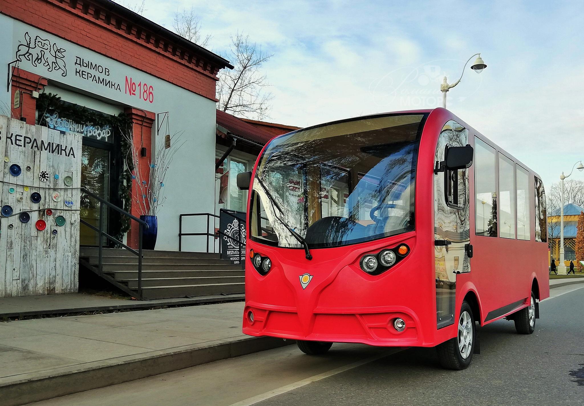 """Электроавтобус """"Конкордия А14"""" с дверьми New"""