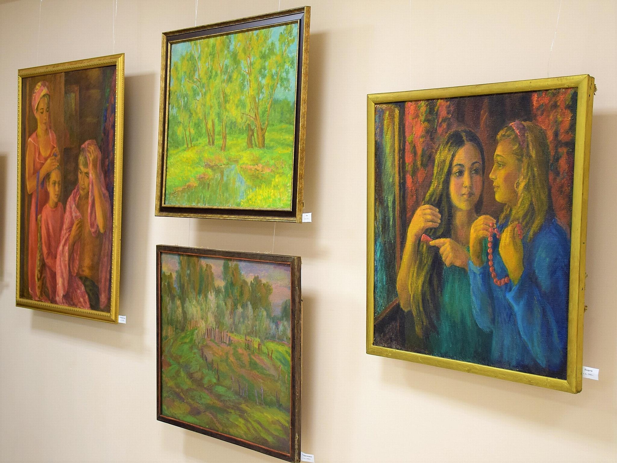 Дом дружбы народов Чувашии знакомит с творчеством чувашских художников
