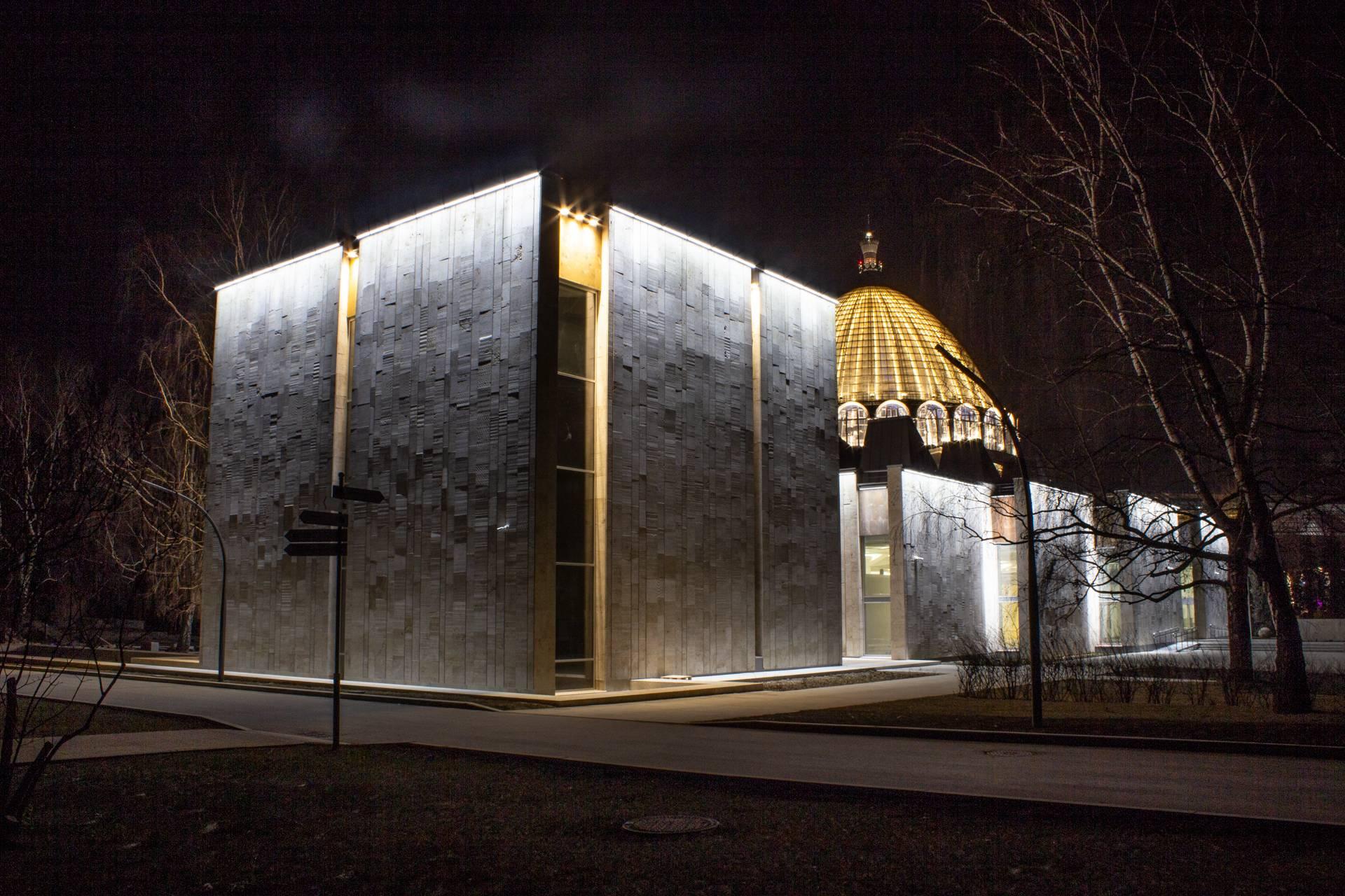 Освещение павильона «Цветоводство и озеленение», ВДНХ, г. Москва
