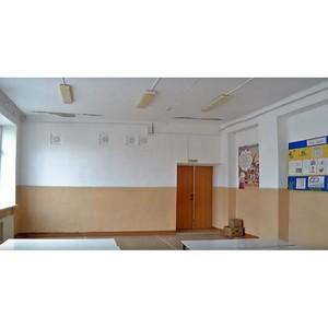 В селе Белогорье Амурской области проведен внеплановый ремонт школы