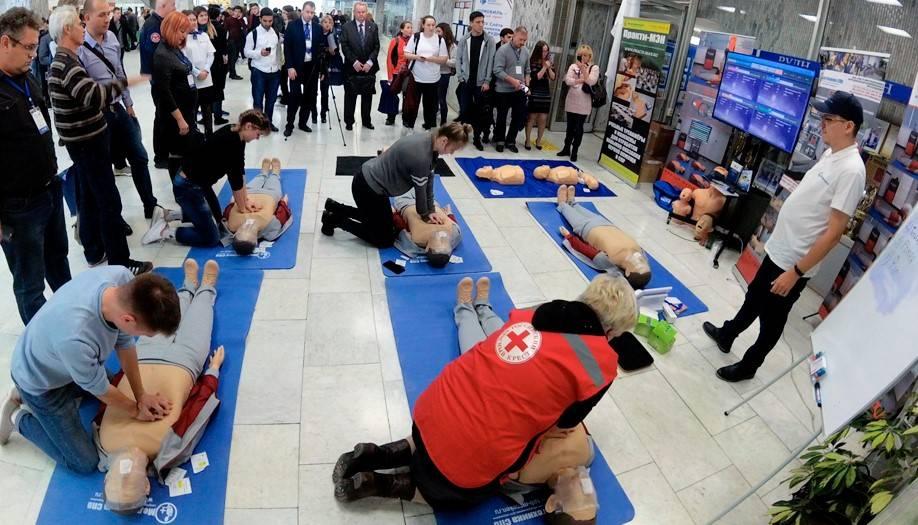 Безопасный труд. Роботы учат спасать жизни